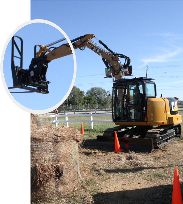 Cat® introduces Industrial Brushcutter and Mini Hydraulic Excavator